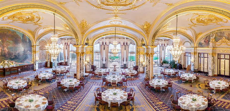 Exceptional receptions in monaco the salle empire room its salle empire terrace publicscrutiny Choice Image